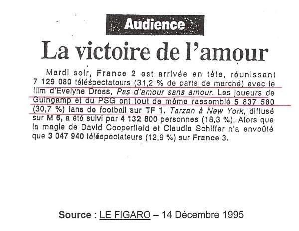 Meilleure audience sur France 2 !